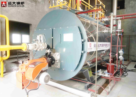 Intelligent Controlled Industrial Steam Boiler For Rubber Industry