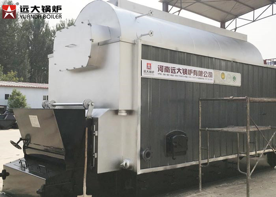 4500 Kg Steam Output Coal Fired Boiler Large Stove For Slaughter House